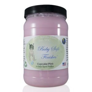 Baby Safe Finishes Cupcake Pink