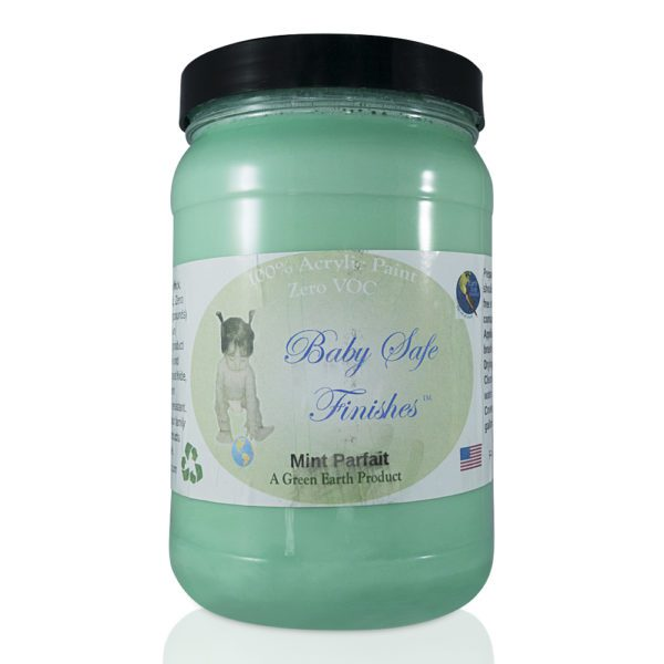 Baby Safe Finishes Mint Parfait
