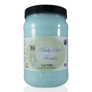 Baby Safe Finishes Teal Taffy