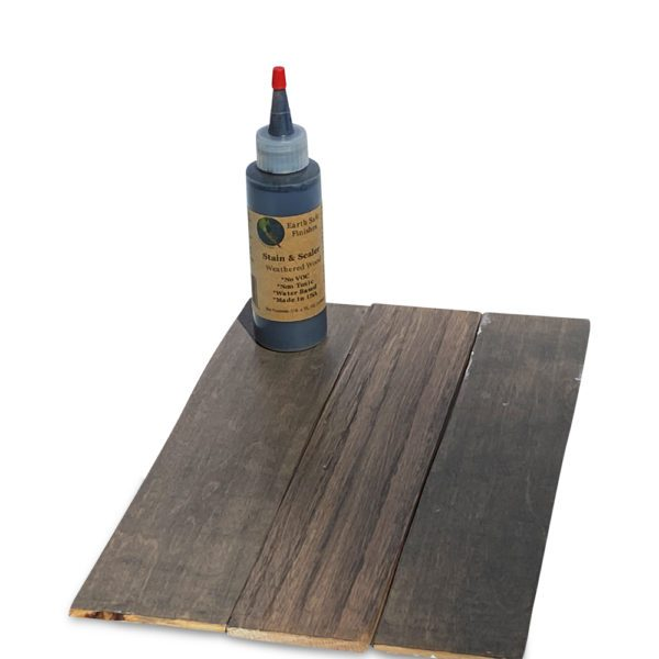 Stain & Sealer Weathered Wood
